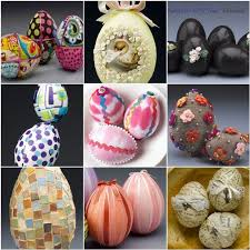 faux eggs for decorating and easy ideas for decorating styrofoam eggs easter