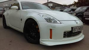 nissan 350z gt for sale used nissan 350 z v6 gt pearlescent white with black leather nismo