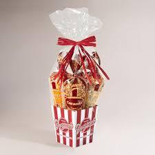 popcorn gift baskets popcornopolis 4 cone classic gourmet popcorn gift basket world