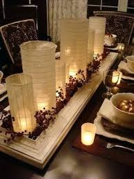candle centerpieces for tables top 9 dining room centerpiece ideas dining room centerpiece candle