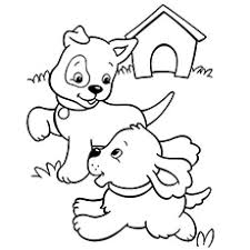 Top 30 Free Printable Puppy Coloring Pages Online Puppy Color Pages