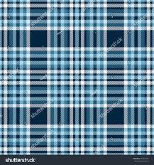 Tartan Seamless Tartan Plaid Pattern Checkered Fabric Stock Vector