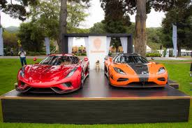 replica lamborghini vs real the cars of monterey car week 2016 the quail koenigsegg
