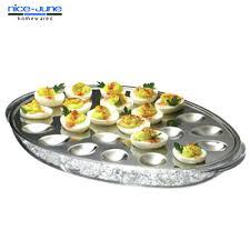 deviled egg plate target deviled egg container holder target carrier with lid natandreini