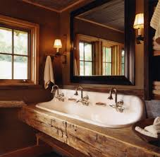 trough sinks for bathroom double faucet style sink kohler about