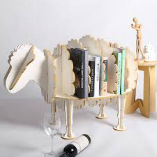 aliexpress com buy 94cm l creative sheep bookshelf cute wood