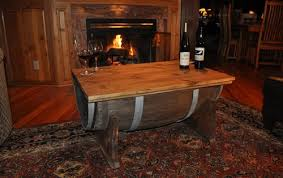 how to make a coffee table from a whiskey barrel the art of