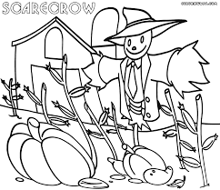 Halloween Scarecrow Coloring Pages Scarecrow Coloring Pages Coloring Pages To Download And Print