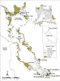 Map Of San Francisco Area by Study Area Map Of San Francisco Bay Estuary California