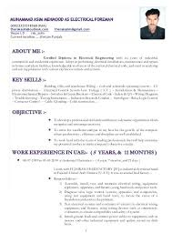 resume sles for electrical engineer pdf to excel electrician cv exles sle electrical engineering sle