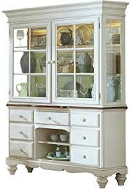 Country Buffet And Hutch Amazon Com Hillsdale Furniture Wilshire Antique White Finish
