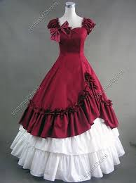 Halloween Costumes Southern Belle Belle Victorian West Saloon Gown Reenactment Halloween Costume