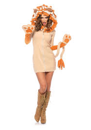 leg avenue 85501 cozy lion costume