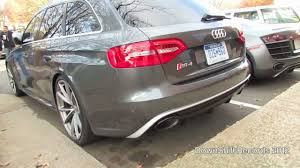supercharged audi rs4 for sale german spec audi rs4 avant b8 in the us matte black
