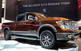 nissan cummins next generation nissan titan makes national debut at the 2015