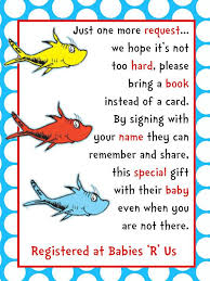 Baby Shower Book Instead Of Card Poem Baby Celebration Picmia
