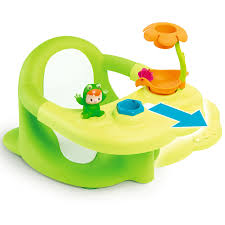 smoby 110606 cotoons siege de bain multi activités vert