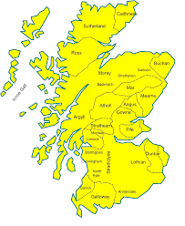 downloads online coloring page map of scotland for children 67 on