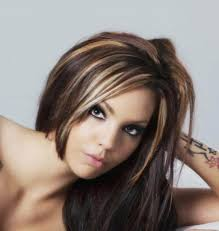 dark brown hair with caramel highlights hair and beauty