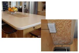 Electrical Outlet Strips Under The Cabinet Trendy Popup Electrical Outlets That Make Sense Home Tips For Women