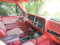 red jeep compass interior 1985 jeep cherokee interior pictures cargurus