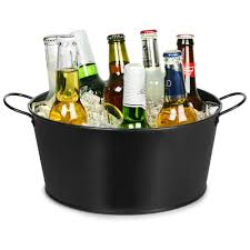 Oval Party Beverage Tub by Party Time Drinks Tub At Drinkstuff