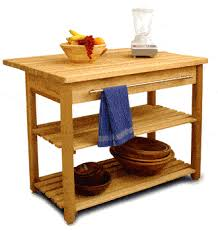 Contemporary Harvest Table W Drop Leaf Kitchen Island Catskill - Kitchen cart table