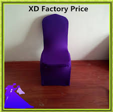 purple chair covers factory directly spandex polyester purple chair covers for