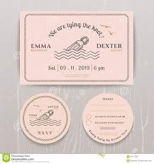 Wedding Invitations And Rsvp Cards Nautical Message In The Bottle Wedding Invitation And Rsvp Card