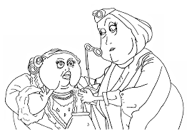 coraline coloring pages ziho coloring