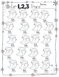 free numbers and abc winter tracing pages my tpt products