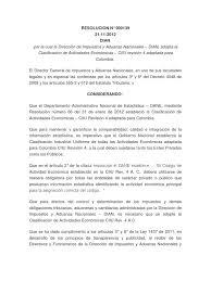 codigos actividades economicas dian resolución n 000139