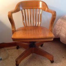 Milwaukee Chair Company Antique Desk Chair Ebay