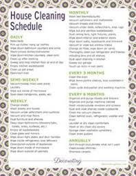 printable house cleaning schedule printable housekeeping log cleaning service detailed tracking