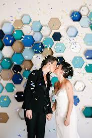 wedding backdrop modern 31 trendy geometric wedding backdrops weddingomania