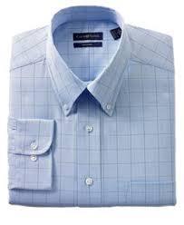 geoffrey beene dress shirt slim fit blue broad striped long