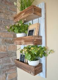 Wall Mounted Planter Diy Wooden Wall Planter Little Vintage Nest