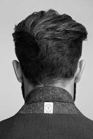 hair styles for back of back view of short haircuts for men david s head pinterest