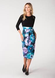coloured dress buy closet floral cropped sleeve midi dress multi coloured