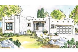 Pueblo House Plans by Southwest House Plans Mesa Verde 11 126 Associated Designs