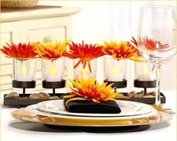 modern flower table decorations modern dining room table