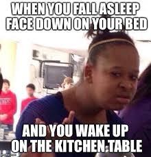 Meme Phone Falling On Face - falling asleep imgflip