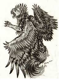 winged leopard sketch by sunima on deviantart