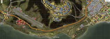 Dayzdb Map Steam Community Guide Dayz Towns Loot Military Bases Etc