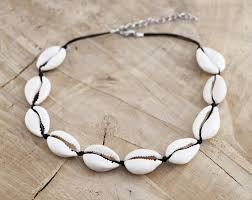 shell necklace images Cowrie choker necklace sea shell choker natural shell jpg