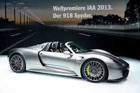 Porsche 918 Hypercar - porsche 918 spyder frankfurt 2013 picture 89079