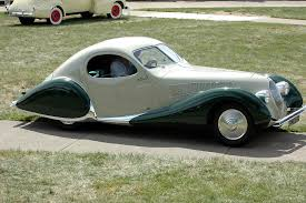 french art deco cars talbot lago bodied by figoni et falaschi