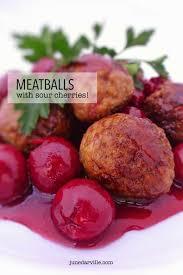 cuisine cherry belgian meatballs with sour cherries belgian cuisine