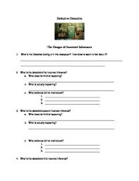 defective detective inferencing worksheet by miss a u0027s mismatched