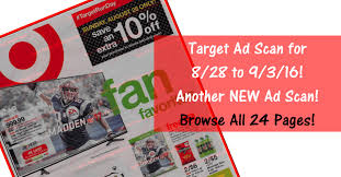 target black friday ad scan 2016 target ad scan for 8 28 to 9 3 16
